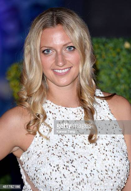 Petra Kvitova attends the Wimbledon Champions Dinner at the Royal Opera House on July 6 2014 in London England