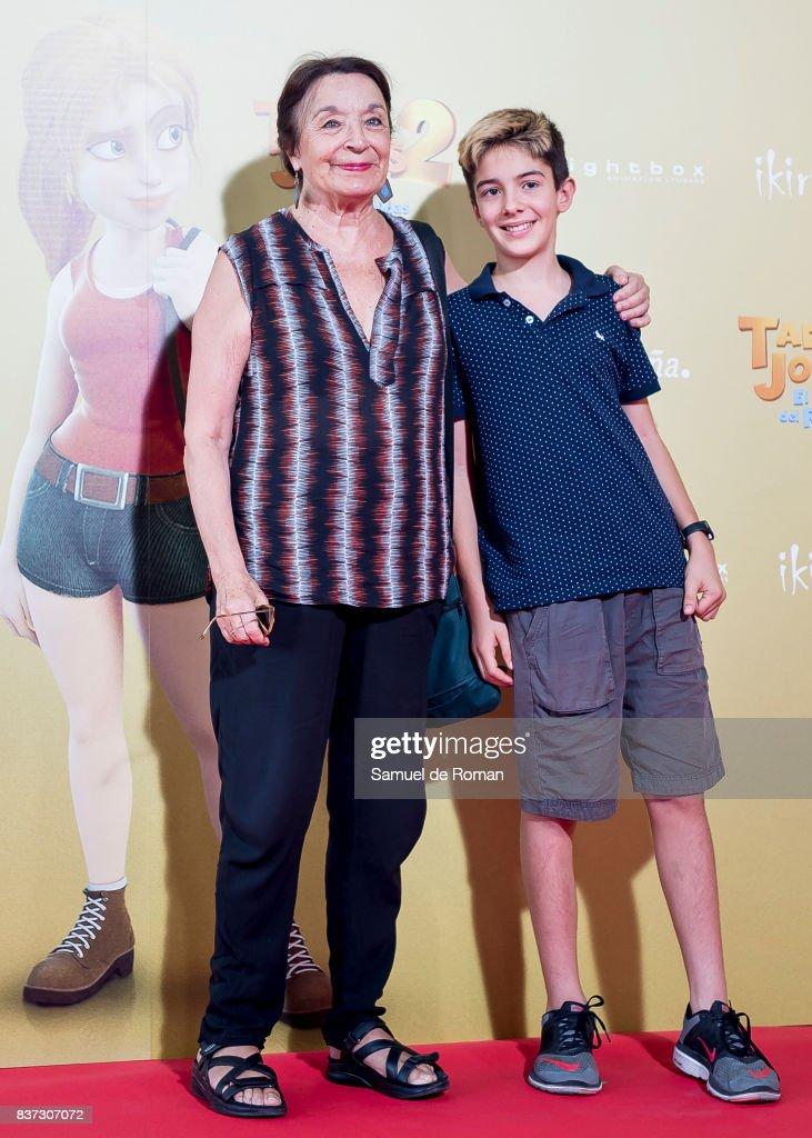 Petra Martinez attends the 'Tadeo Jones 2. El Secreto Del Rey Midas' Madrid Premiere on August 22, 2017 in Madrid, Spain.