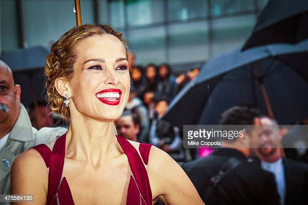 Petra Nemcova arrives at the 2015 CFDA Fashion Awards at Alice Tully Hall at Lincoln Center on June 1 2015 in New York City