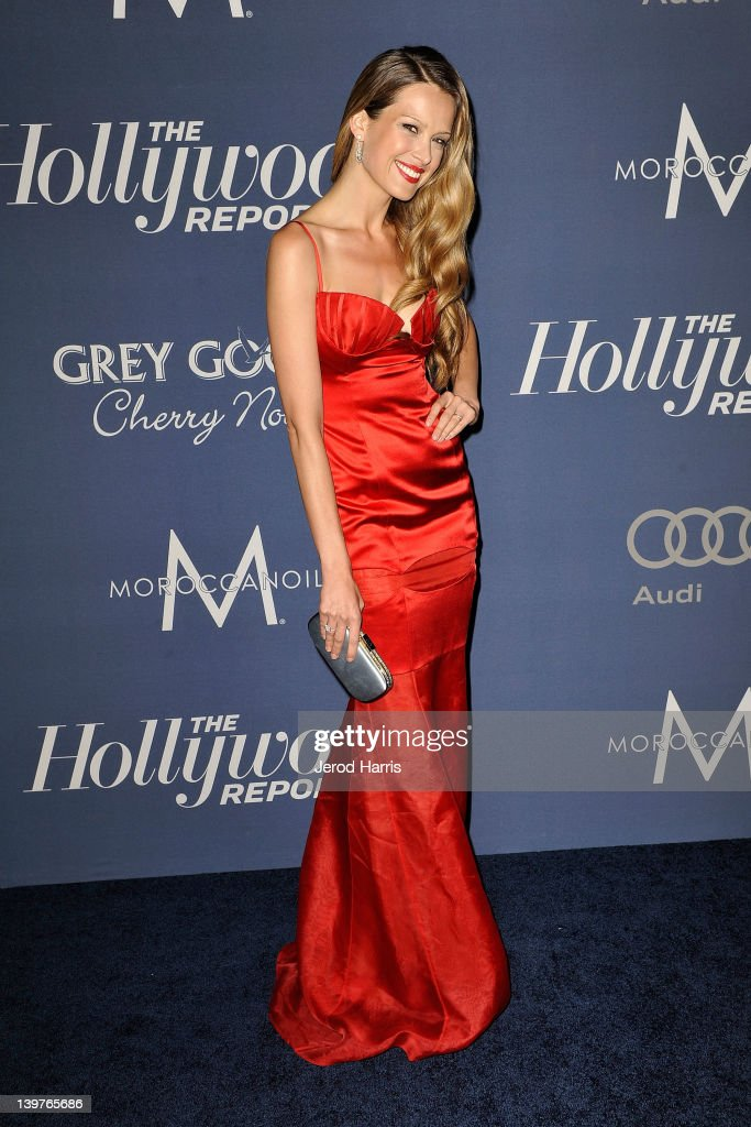 Petra Nemcova arrives at The Hollywood Reporter celebrates the 84th annual Academy Awards nominees at the Getty House on February 23 2012 in Los...