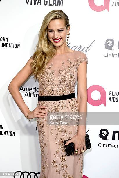 Petra Nemcova arrives for the 22nd Annual Elton John AIDS Foundation's Oscar Viewing Party held at West Hollywood Park on March 2 2014 in West...