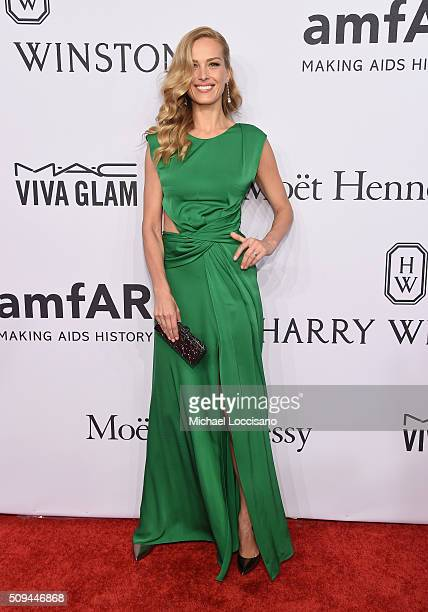 Petra Nemcova attends 2016 amfAR New York Gala at Cipriani Wall Street on February 10 2016 in New York City
