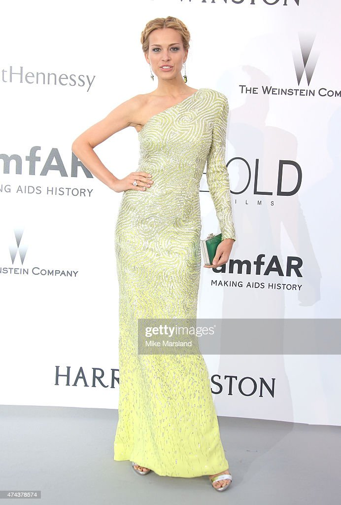 Petra Nemcova attends amfAR's 22nd Cinema Against AIDS Gala, Presented By Bold Films And Harry Winston at Hotel du Cap-Eden-Roc on May 21, 2015 in Cap d'Antibes, France.