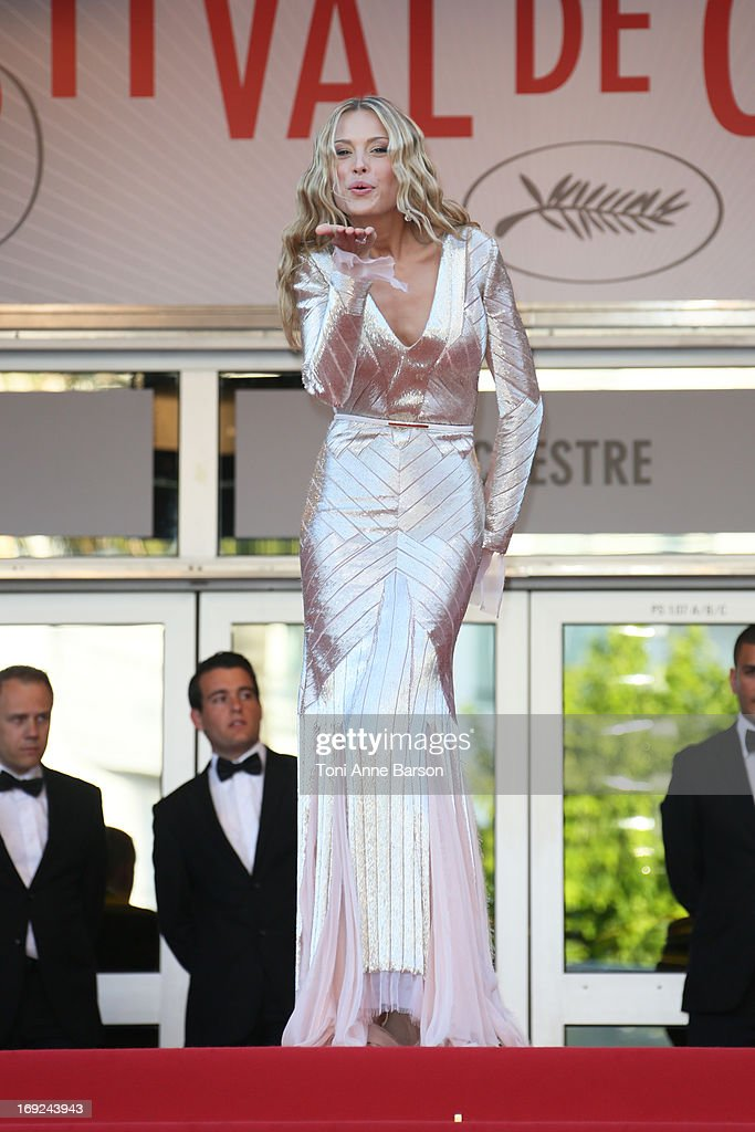 Petra Nemcova attends 'Behind The Candelabra' Premiere during The 66th Annual Cannes Film Festival on May 21, 2013 in Cannes, France.