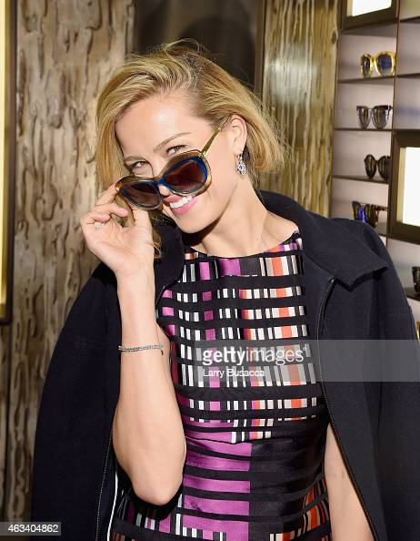 Petra Nemcova attends FENDI celebrates the opening of the New York flagship store on February 13 2015 in New York City