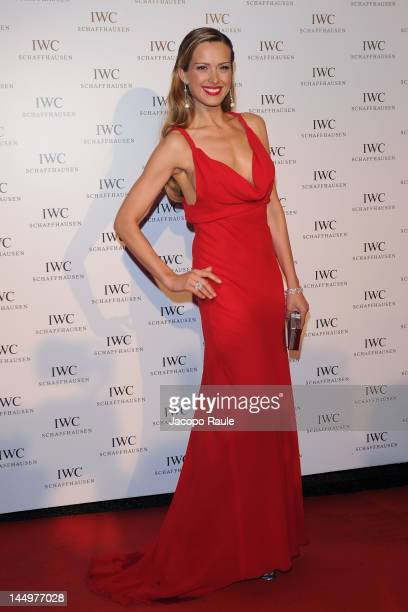 Petra Nemcova attends IWC Filmmakers Dinner At Eden Roc Red Carpet Arrivals 65th Annual Cannes Film Festival at Hotel Du CapEden Roc on May 21 2012...