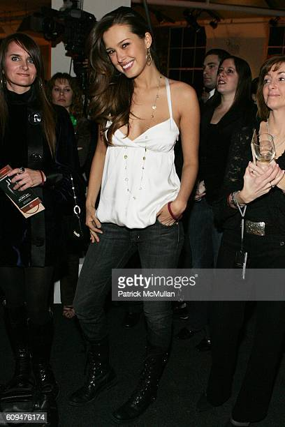 Petra Nemcova attends Jon Bon Jovi and Kenneth Cole Team Up For An Unforgettable Night of Fundraising At 'RSVP To Help' at Tribeca Rooftop on January...