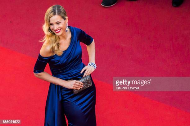 Petra Nemcova attends the '120 Beats Per Minute ' screening during the 70th annual Cannes Film Festival at Palais des Festivals on May 20 2017 in...