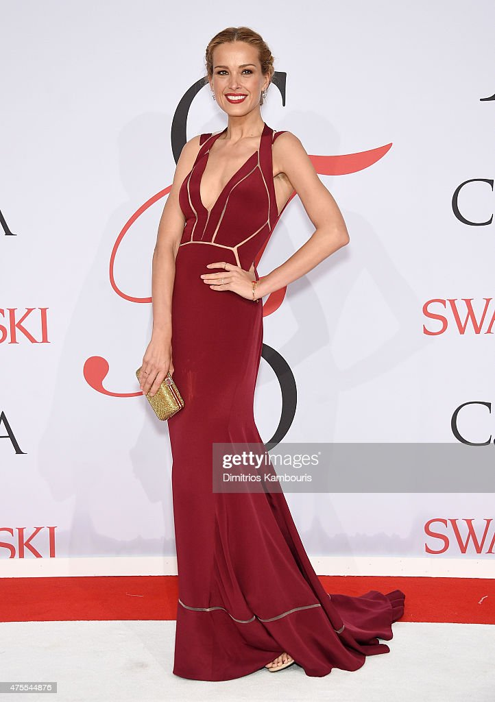Petra Nemcova attends the 2015 CFDA Fashion Awards at Alice Tully Hall at Lincoln Center on June 1 2015 in New York City