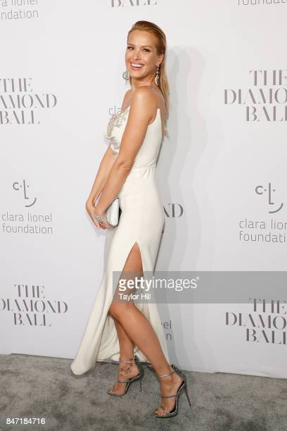 Petra Nemcova attends the 3rd Annual Diamond Ball at Cipriani Wall Street on September 14 2017 in New York City