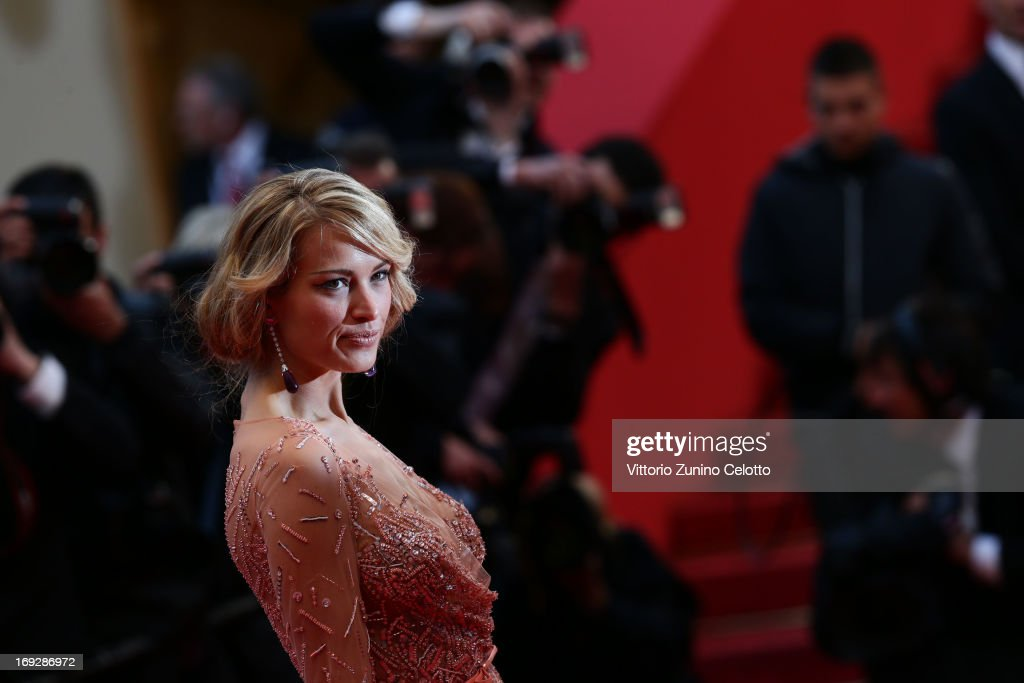 Petra Nemcova attends the 'All Is Lost' Premiere during the 66th Annual Cannes Film Festival at Palais des Festivals on May 22, 2013 in Cannes, France.
