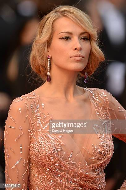 Petra Nemcova attends the 'All Is Lost' Premiere during the 66th Annual Cannes Film Festival at Palais des Festivals on May 22 2013 in Cannes France