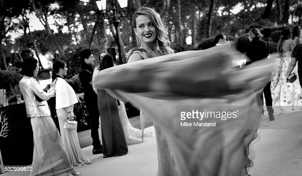 Petra Nemcova attends the amfAR's 23rd Cinema Against AIDS Gala at Hotel du CapEdenRoc on May 19 2016 in Cap d'Antibes France