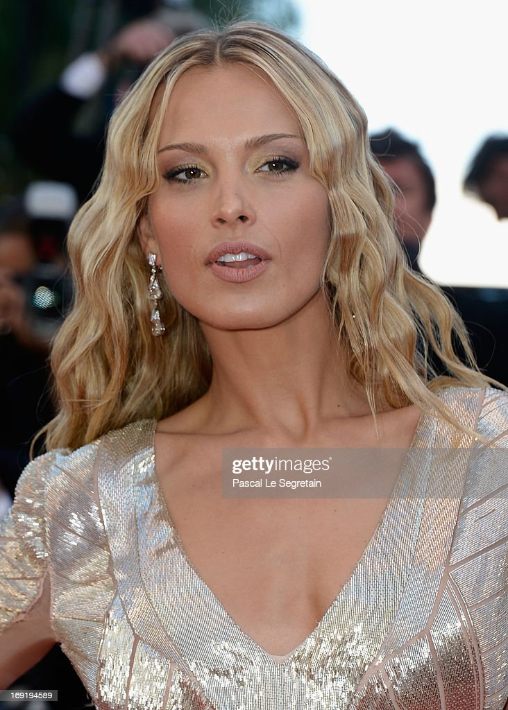 Petra Nemcova attends the 'Behind The Candelabra' premiere during The 66th Annual Cannes Film Festival at Theatre Lumiere on May 21, 2013 in Cannes, France.