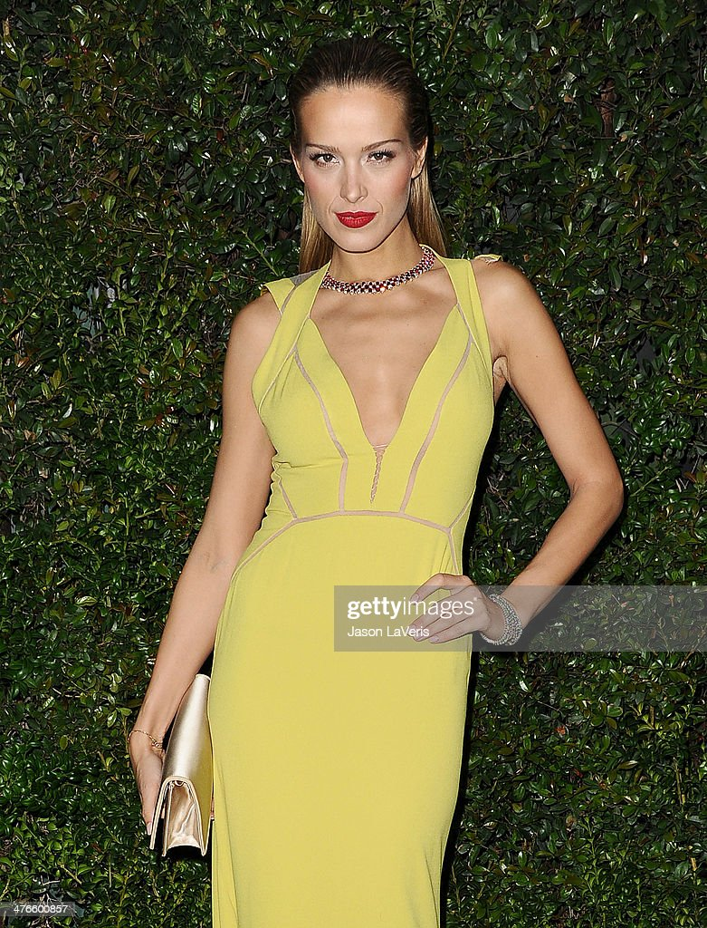 <a gi-track='captionPersonalityLinkClicked' href=/galleries/search?phrase=Petra+Nemcova&family=editorial&specificpeople=201716 ng-click='$event.stopPropagation()'>Petra Nemcova</a> attends the Chanel and Charles Finch pre-Oscar dinner at Madeo Restaurant on March 1, 2014 in Los Angeles, California.