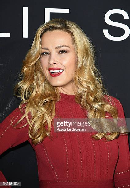 Petra Nemcova attends the Elie Saab Haute Couture Fall/Winter 20162017 show as part of Paris Fashion Week on July 6 2016 in Paris France