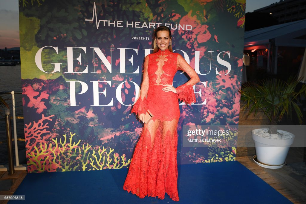 Petra Nemcova attends the Generous People 5th Anniversary Party during the 70th annual Cannes Film Festival at Martinez Pier on May 24, 2017 in Cannes, France.