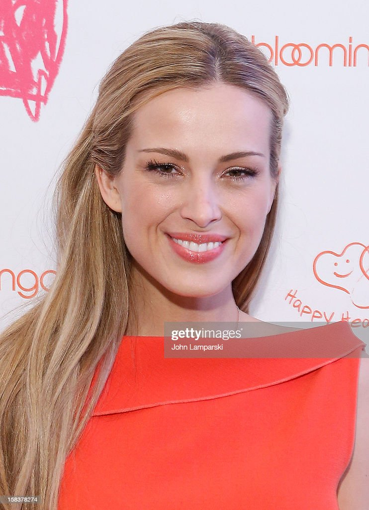 Petra Nemcova attends the Happy Hearts Fund In Partnership With Clinique Launch Event at Bloomingdale's 59th Street Store on December 14, 2012 in New York City.