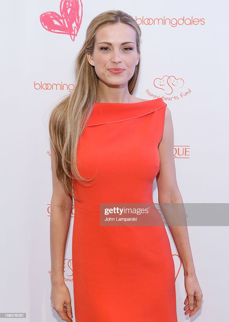 <a gi-track='captionPersonalityLinkClicked' href=/galleries/search?phrase=Petra+Nemcova&family=editorial&specificpeople=201716 ng-click='$event.stopPropagation()'>Petra Nemcova</a> attends the Happy Hearts Fund In Partnership With Clinique Launch Event at Bloomingdale's 59th Street Store on December 14, 2012 in New York City.