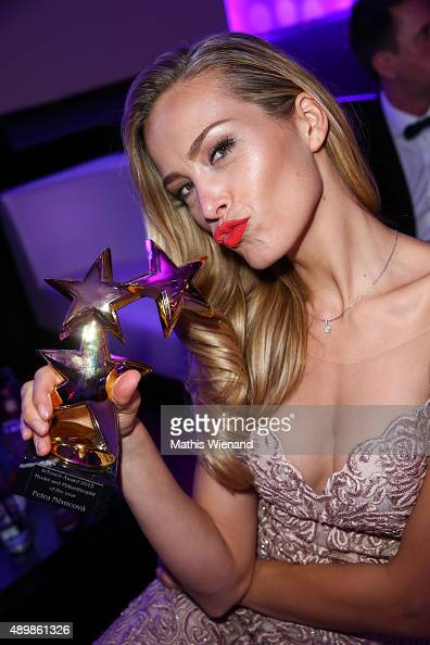 Petra Nemcova attends the Icons Idols No 3 event to celebrate the 10th anniversary of InTouch magazine on September 24 2015 in Duesseldorf Germany