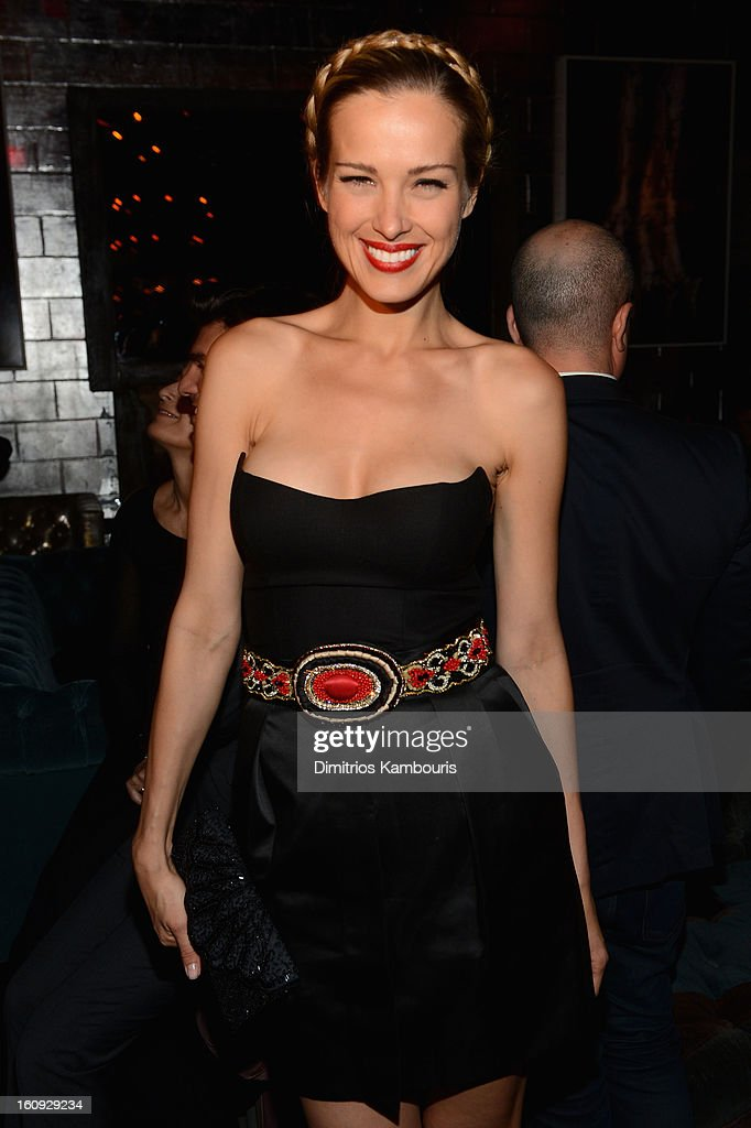 Petra Nemcova attends the La Perla After Party Hosted By DeLeon Tequila at The Electric Room on February 7, 2013 in New York City.