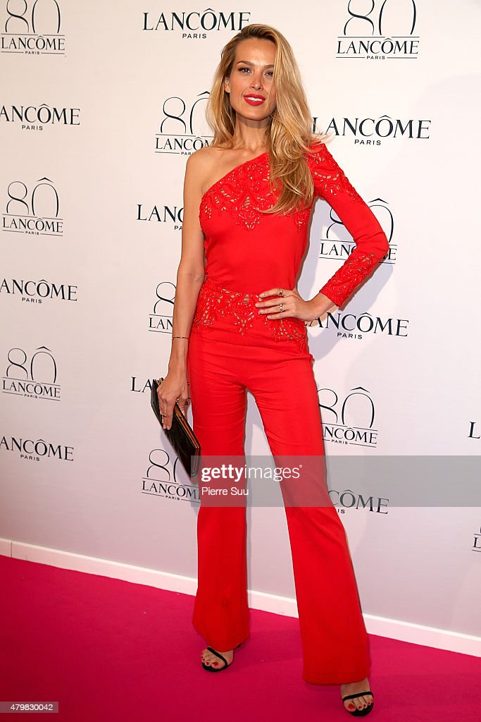 Petra Nemcova attends the Lancome 80th Anniversary Party as part of Paris Fashion Week Haute Couture Fall/Winter 2015/2016 on July 7, 2015 in Paris, France.