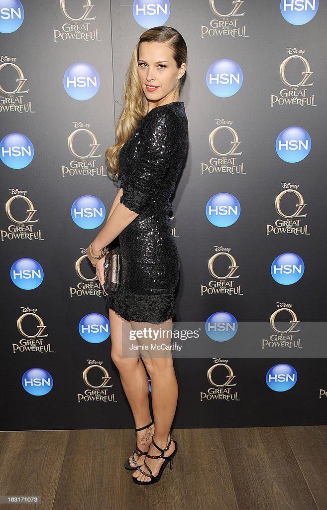 Petra Nemcova attends the 'Oz The Great And Powerful' VIP screening at the Crosby Street Hotel on March 5, 2013 in New York City.