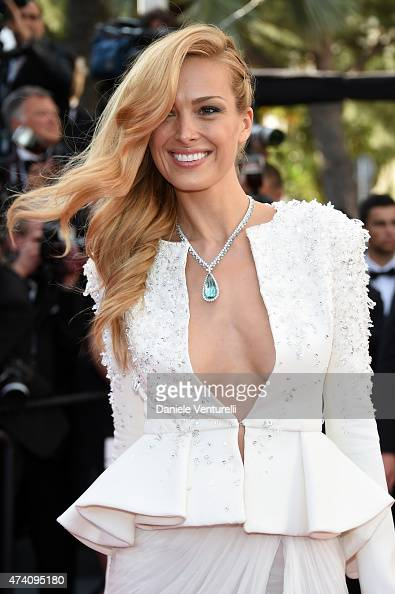 Petra Nemcova attends the Premiere of 'Youth' during the 68th annual Cannes Film Festival on May 20 2015 in Cannes France