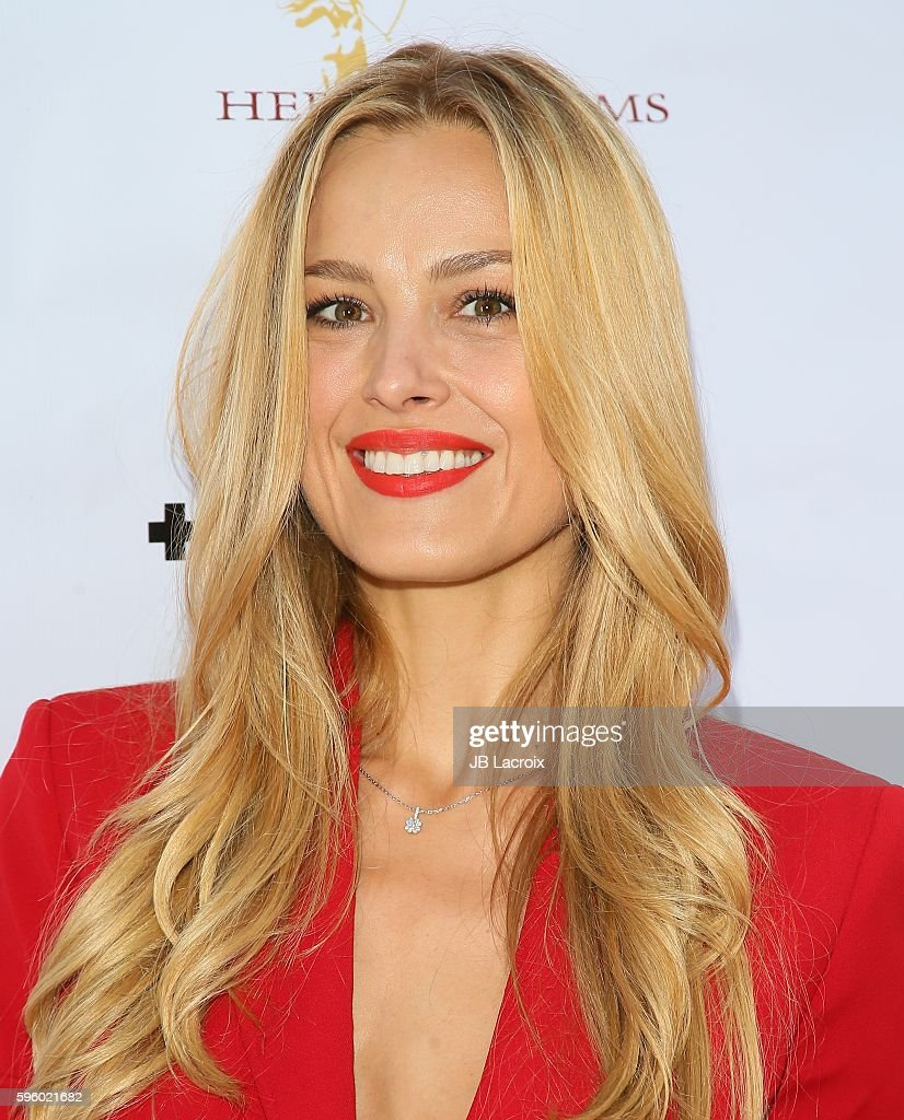 Petra Nemcova attends the screening of Heroica Films' 'Equal Means Equal' on August 26 2016 in Beverly Hills California