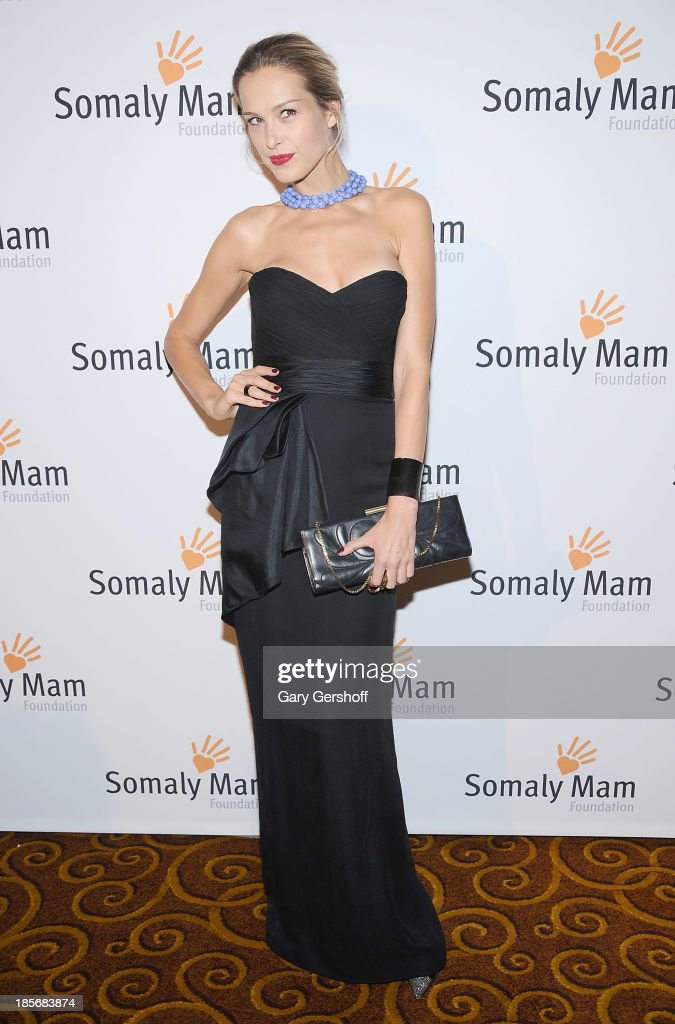 <a gi-track='captionPersonalityLinkClicked' href=/galleries/search?phrase=Petra+Nemcova&family=editorial&specificpeople=201716 ng-click='$event.stopPropagation()'>Petra Nemcova</a> attends the Somaly Mam Foundation Gala at Gotham Hall on October 23, 2013 in New York City.
