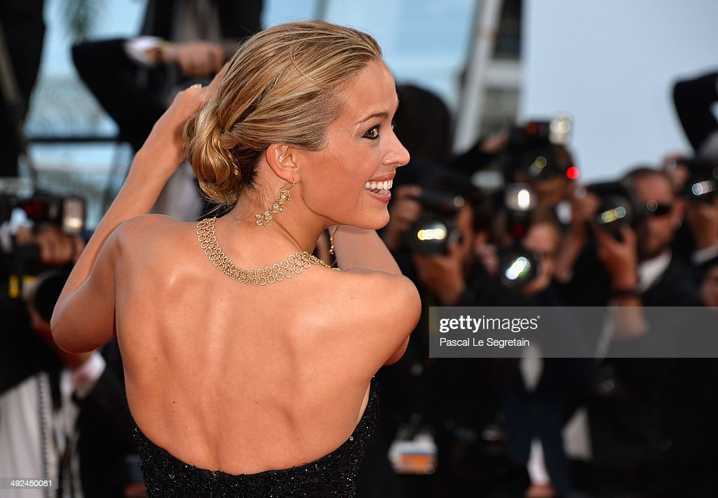 Petra Nemcova attends the 'Two Days, One Night' (Deux Jours, Une Nuit) premiere during the 67th Annual Cannes Film Festival on May 20, 2014 in Cannes, France.