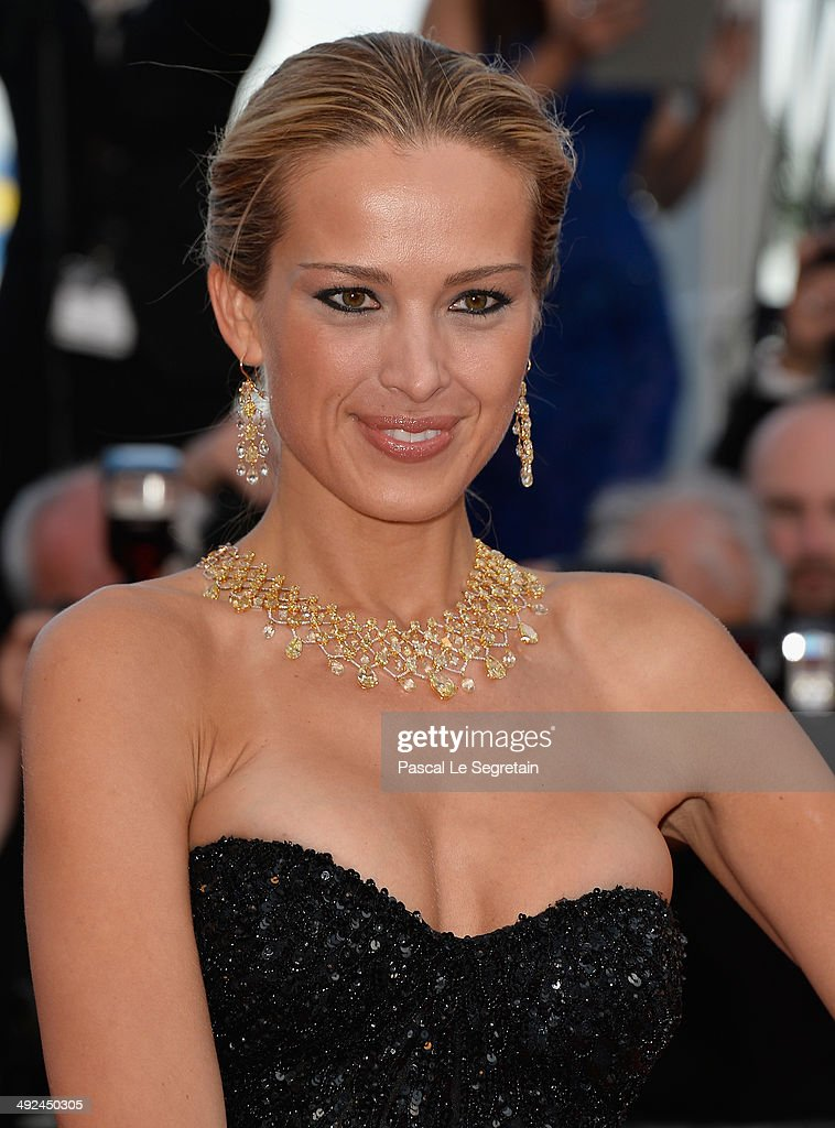 Petra Nemcova attends the 'Two Days, One Night' premiere during the 67th Annual Cannes Film Festival on May 20, 2014 in Cannes, France.