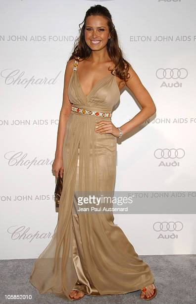 Petra Nemcova during 15th Annual Elton John AIDS Foundation Oscar Party Arrivals at Pacific Design Center in West Hollywood California United States