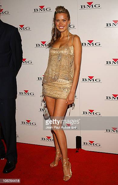 Petra Nemcova during BMG After GRAMMY Party Arrivals at Avalon in Hollywood California United States