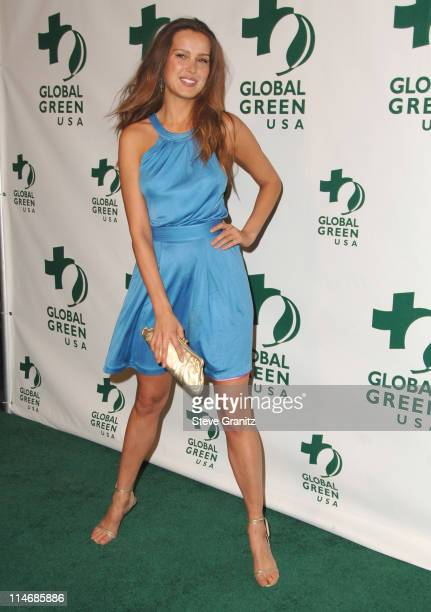 Petra Nemcova during Global Green USA 3rd Annual PreOscar Celebration to Benefit Global Warming Arrivals at Avalon in Hollywood California United...