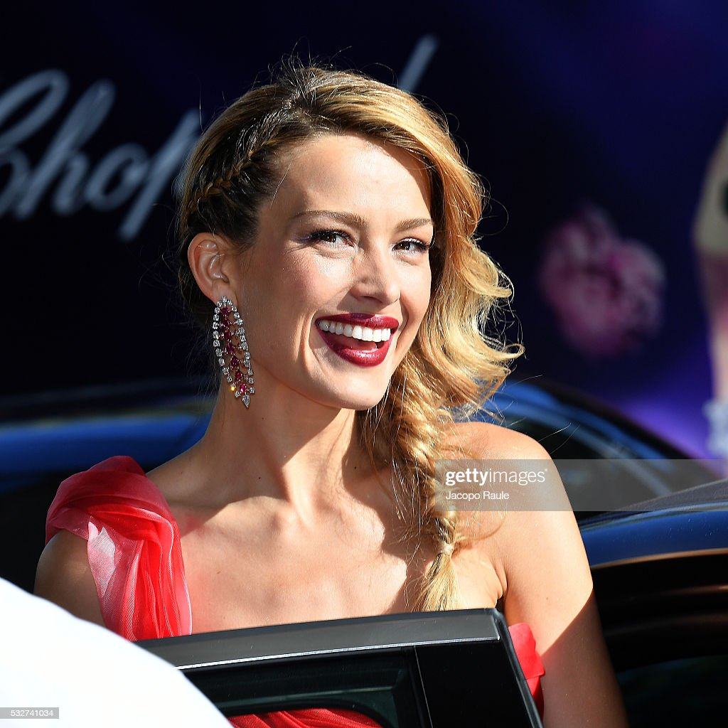 Petra Nemcova is seen at Hotel Martinez during the annual 69th Cannes Film Festival at on May 19 2016 in Cannes France
