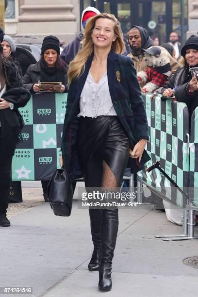 Petra Nemcova is seen on November 14 2017 in New York City