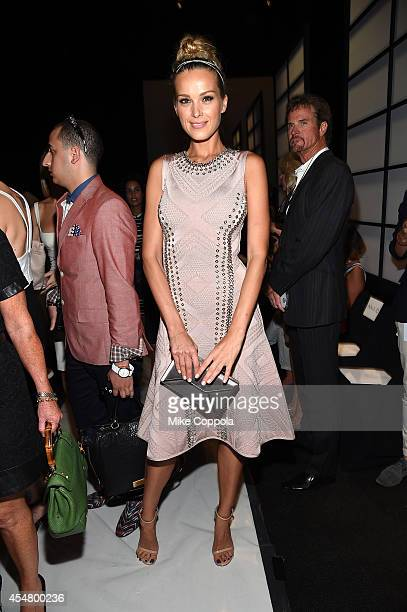 Petra Nemcovca attends the MercedesBenz Lounge during MercedesBenz Fashion Week Spring 2015 at Lincoln Center on September 6 2014 in New York City
