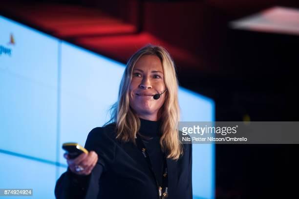 Petra Stenqvist Partner Pond Innovation during the Sime Awards at Epicenter on November 16 2017 in Stockholm Sweden