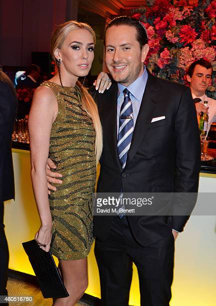 Petra Stunt and James Stunt attend The F1 Party in aid of the Great Ormond Street Children's Hospital at the Victoria and Albert Museum on July 2...
