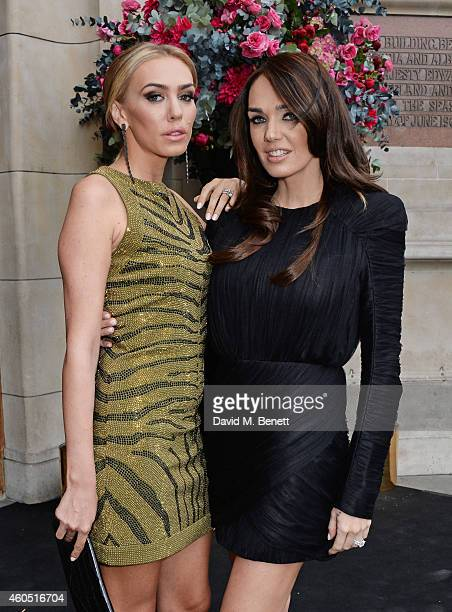 Petra Stunt and Tamara Ecclestone attend The F1 Party in aid of the Great Ormond Street Children's Hospital at the Victoria and Albert Museum on July...