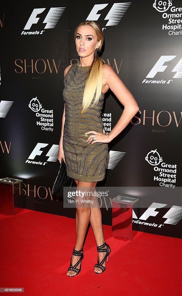 Petra Stunt attends The F1 Party in aid of the Great Ormond Street Children's Hospital at Victoria and Albert Museum on July 2, 2014 in London, England.