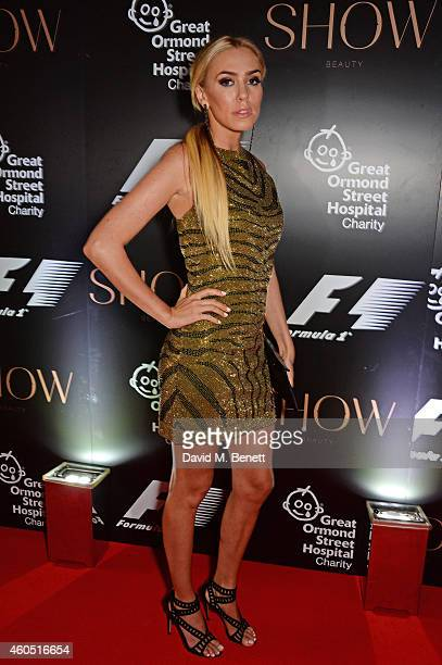 Petra Stunt attends The F1 Party in aid of the Great Ormond Street Children's Hospital at the Victoria and Albert Museum on July 2 2014 in London...