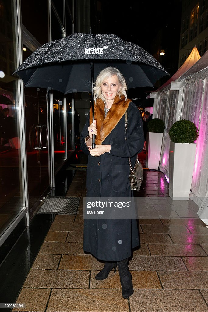 Petra van Bremen attends the Montblanc House Opening on February 09, 2016 in Hamburg, Germany.