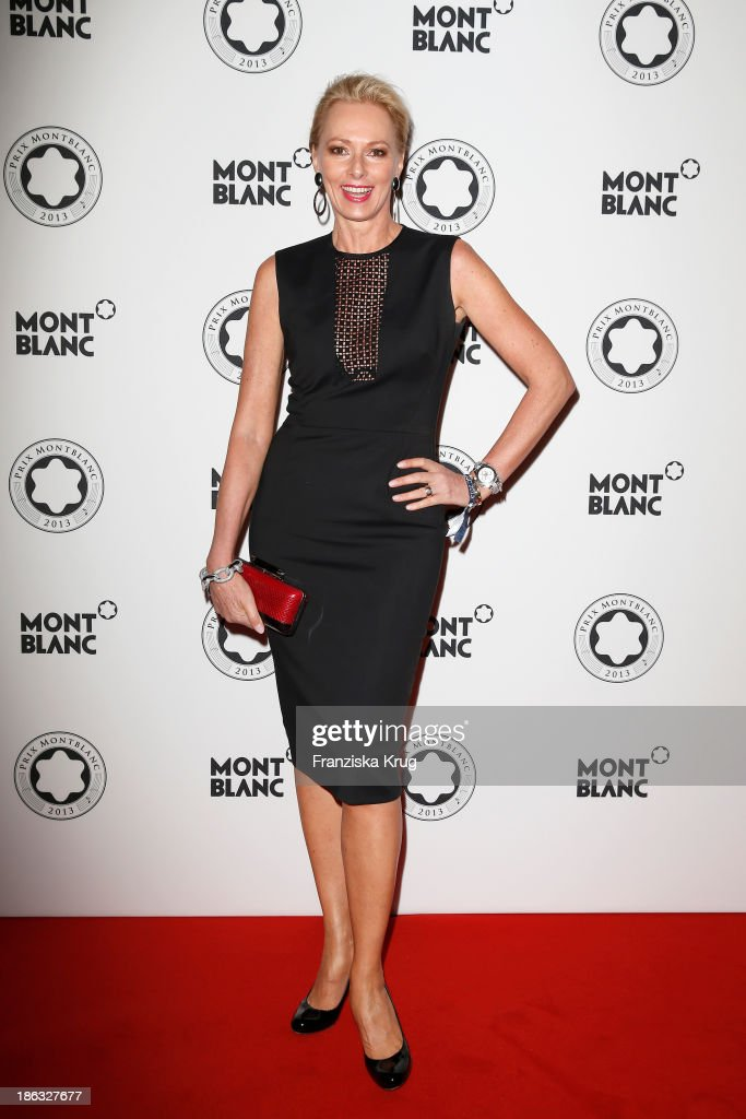 Petra van Bremen attends the Prix Montblanc 2013 at Konzerthaus Am Gendarmenmarkt on October 30, 2013 in Berlin, Germany.