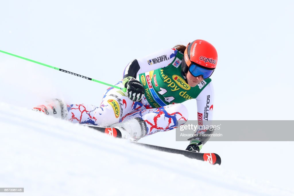 AUDI FIS Ski World Cup Soelden Ladies' Giant Slalom