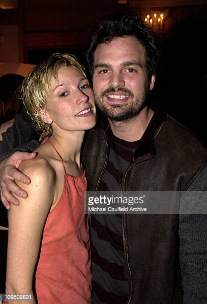 Petra Wright Mark Ruffalo at the 'XX/XY' party at the Chrysler Lodge