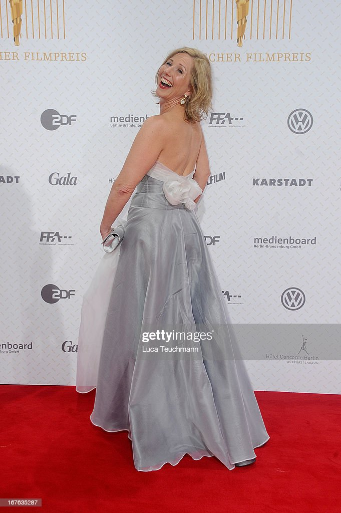 Petra Zieser attends the Lola German Film Award 2013 at Friedrichstadtpalast on April 26, 2013 in Berlin, Germany.