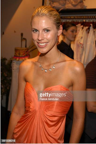Petrina Khashoggi attends Foley Corinna Store Opening Party at Foley Corinna Store on June 8 2005