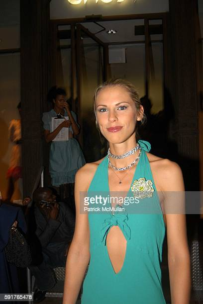 Petrina Khashoggi attends GHOST SPRING SUMMER 2006 COLLECTION LAUNCH EVENT at 28 Bond Street on October 19 2005 in New York City